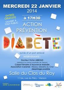 affiche diabete JANV 2014
